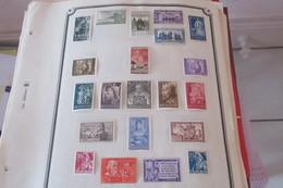 Hommes Et VILLES CELEBRES   66 Scans  N* MLH - Stamps