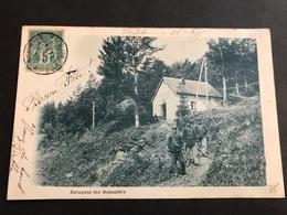 CPA 1900/1920 Au Ballon D'Alsace La Baraque Des Douaniers - Francia