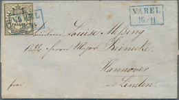Oldenburg - Marken Und Briefe: 1852/1864, Interessante Partie Mit 9 Belegen, Dabei 3 Briefe Mit EF M - Oldenburg