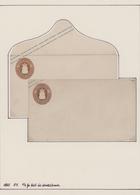 Oldenburg - Ganzsachen: 1861/64, Sammlung Von 36 Ganzsachen-Umschlägen Ungebraucht Und Gebraucht, Al - Oldenburg