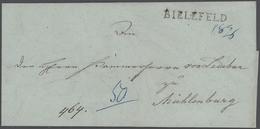 Preußen - Marken Und Briefe: 1764/1875, Ostwestfalen, Interessante Heimatsammlung Von 44 Belege Aus - Preussen