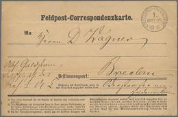 Preußen - Feldpost: 1870-1871 (ca.), DEUTSCH-FRANZ. KRIEG, Herausragende Sammlung Von Ca. 155 Belege - Preussen