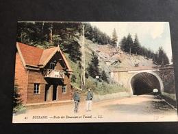 CPA 1900/1920 Bussang Poste Des Douaniers Et Tunnel En Couleur - Bussang