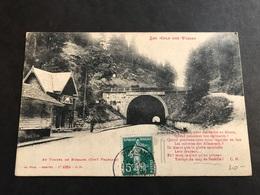 CPA 1900/1920 Bussang Le Tunnel Côté Français Avec Poème - Bussang