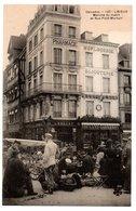 Lisieux - Marché Du Matin Et Rue Pont -Mortain -  CPA° - Lisieux