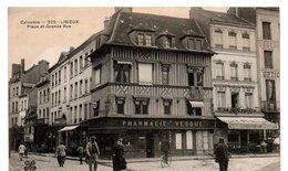 Lisieux - Place Et Grande Rue -  CPA° - Lisieux