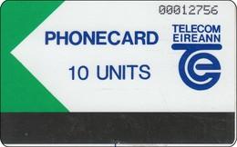 Irland Phonecard Autelca Test Und Trial Card 10 Units - Ierland