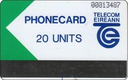 Irland Phonecard Autelca Test Und Trial Card 20 Units - Ierland