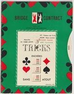 TH - BRIDGE - SCORE PAD - ROTACTEUR PUBLICITAIRE SAINT RAPHAEL - Vieux Papiers