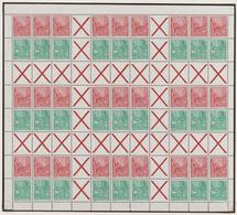 DDR - Markenheftchenbogen: 1955/1961, Komplette Postfrische Slg. Aller Markenheftchenbogen, Heftchen - [6] Oost-Duitsland