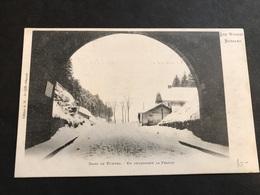 CPA 1900/1920 Bussang Dans Le Tunnel En Regardant La France - Bussang