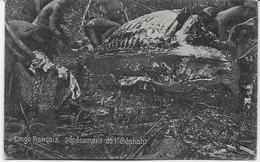 Auguste Béchaud - Congo Français - Dépècement De L'éléphant - - French Congo - Other