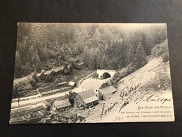CPA 1900/1920 Bussang Le Tunnel Côté Alsacien - Bussang