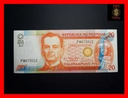 PHILIPPINES 20 Piso 2003 P. 182 I  Black Serial  UNC - Filippijnen