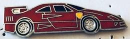 FERRARI ROUGE - AUTOMOBILE - AUTO - VOITURE - CAR - ITALIAN - ITALIE - ITALIA  -       (25) - Ferrari