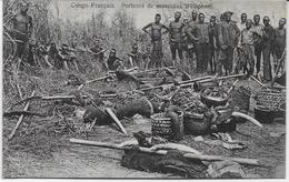 Auguste Béchaud - Congo Français - Porteurs De Morceaux D'éléphant - - French Congo - Other