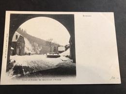 CPA 1900/1920 Bussang Dans Le Tunnel En Regardant L'Alsace - Bussang