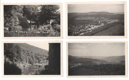 7 X TROIS PONTS 1950 Photos : Panorama Vers Le Village Le Balleur Salm Tour Leroux Route Vers Brume & Mont De Fosse - Trois-Ponts