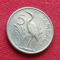 Malawi 5 Tambala 1989 KM# 9.2a - Malawi