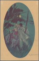 Ansichtskarten: THEMATIK, Schachtel Mit Weit über 200 Historischen Ansichtskarten, Alle Vor 1945 Ein - Cartes Postales