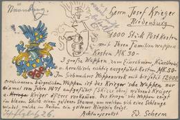 Ansichtskarten: THEMATIK, Kleine Schachtel Mit Ungefähr 280 Historischen Ansichtskarten Ab Ca. 1895 - Cartes Postales