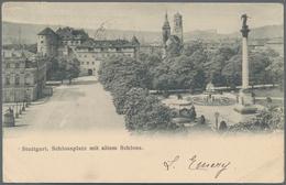 Ansichtskarten: WÜHLKISTE, Karton Mit über 2000 Alten Und Neuen Ansichtskarten, überwiegend Kleinfor - Cartes Postales