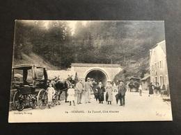 CPA 1900/1920 Bussang Le Tunnel Côté Alsacien Très Animé - Bussang