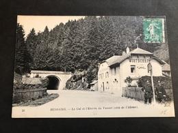 CPA 1900/1920 Bussang Le Tunnel Côté Alsace Douaniers Allemands - Bussang