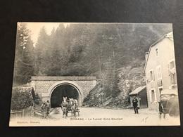 CPA 1900/1920 Bussang Le Tunnel Côté Alsacien Attelage - Bussang