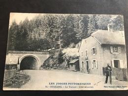 CPA 1900/1920 Bussang Le Tunnel Côté Alsacien Douanier Allemand - Bussang
