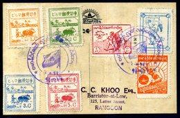 Burma (Japanese Occupation) - Covers - Myanmar (Burma 1948-...)