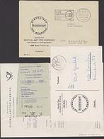 """DDR Postsche MWSt. """"SB Zeit Sparen Selbstbedienungs-Postämt Er Benutzen!"""" 1971 Mit Korrespondenz über Zahlungen - [6] Oost-Duitsland"""