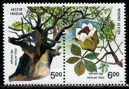AZ3695 India 1997 Baobab 2 Fully Connected MNH - Plants