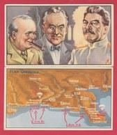 44 Chromos  Bonbons / Toffee Trefin ( Lokeren ) - 2eme Guerre Mondiale /  Wereldoorlog 2e ... Oprération Overlord - Confectionery & Biscuits