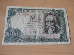 Bank Of Spanien 1.000 Pesetas 1971 - [ 3] 1936-1975 : Régence De Franco