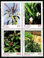 AZ3697 India 1997 Plant Flowers 4 All-Union MNH - Plants