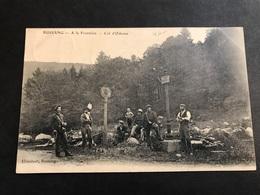 CPA 1900/1920 Bussang Col D'oderen à La Frontière Très Animé - Bussang