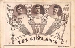 Cirque Circus Les Guylan's Acrobates Eden De Bourg ? Combier - Circus