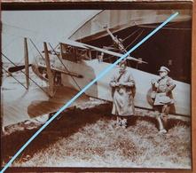 Photo SPAD XI Circa 1918 Biplace Biplan Machine Gun Vickers And Lewis Fora Aérienne Luchtmacht Avion Vliegtuig Aviation - Aviation