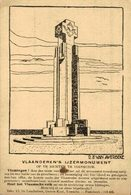 Vlaanderen's Ijzermonument Op Te Richten Te Diksmuide EERST WERELDOORLOG BELGIË BELGIQUE 1914/18 WWI WWICOLLECTION - Guerre 1914-18