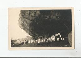 LA MESSE AU GOREH (GROTTE) CARTE PHOTO ANCIENNE NON SITUEE - Cartes Postales