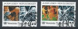 MM-/-598-   N° 71/72, Obl., Cote 3.45 €, Voir IMAGE Pour Detail , - Centre International De Vienne