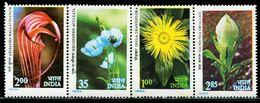 AZ3708 India 1982 Plant Flower 4V MNH - Plants