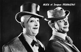 Cirque Circus Alex Et Jacques Francini Clown Photo Igolen - Circus