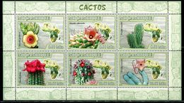 AZ3715 Mozambique 2007 Cactus Flower S/S MNH - Plants