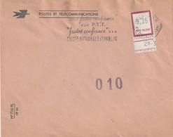 LETTRE Avec FICTIFS N° F145 Cachet Paris XIII - Fictifs