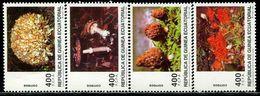 AZ3719 Equatorial Guinea 1997 Mushroom Fungus 4V MNH - Plants