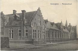 Somerghem - Zomergem   *   Meisjesschool - Zomergem