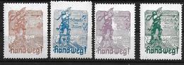 Deutsches Reich WW1 WK1 Gott Strafe England Vignet Werbemarke Cinderella Advertisement Propaganda - Fantasy Labels