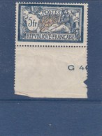 MERSON N° 123 ,5francs ,luxe Sans Charniére Gomme Originale - 1900-27 Merson
